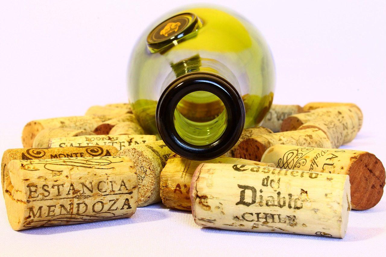 wijn, kurk, witte wijn, bestellen